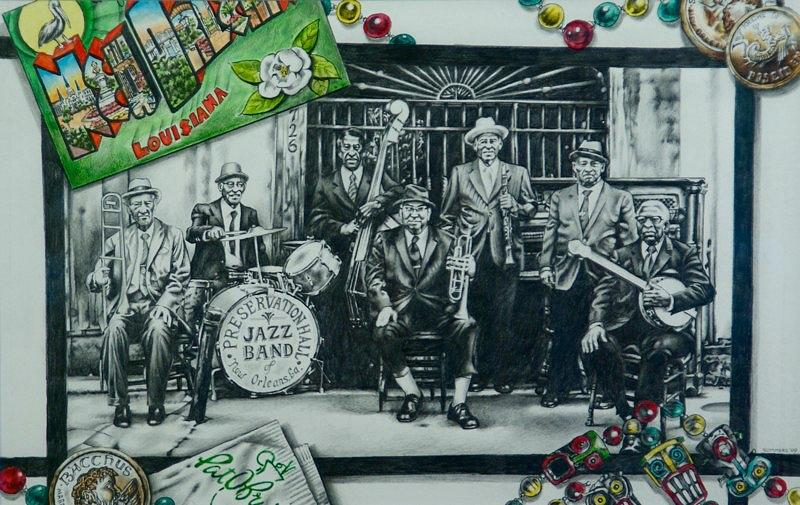 New Orleans Mixed Media - Do You Know What It Means To Miss New Orleans by Michael Lee Summers
