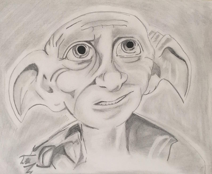 Easy Harry Potter Dobby Drawings Golfclub