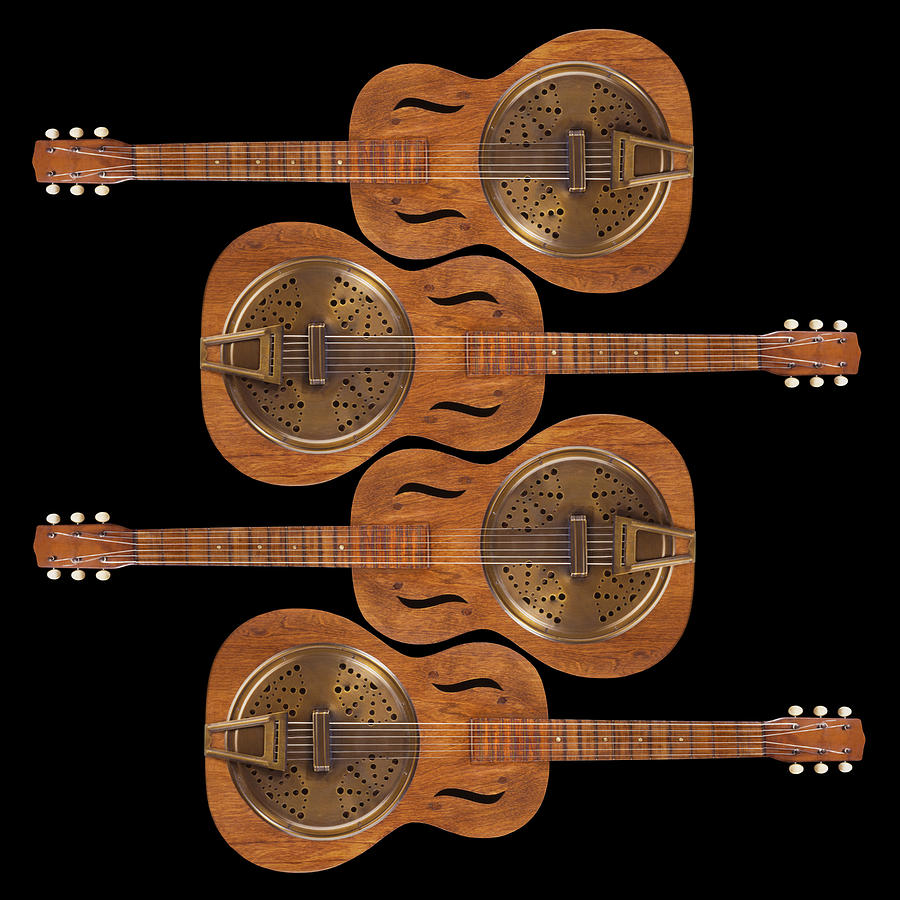 Guitar Photograph - Dobro 5 by Mike McGlothlen