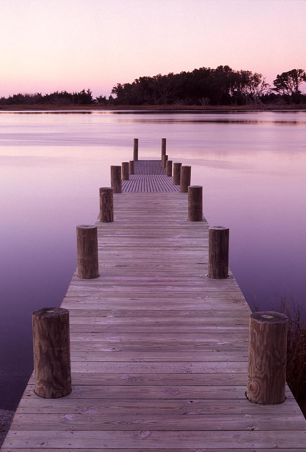 North Carolina Photograph - Dock by Eric Foltz