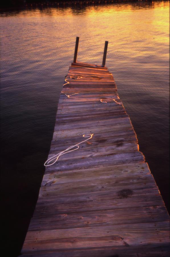 Dock Photograph by Joseph Hedaya