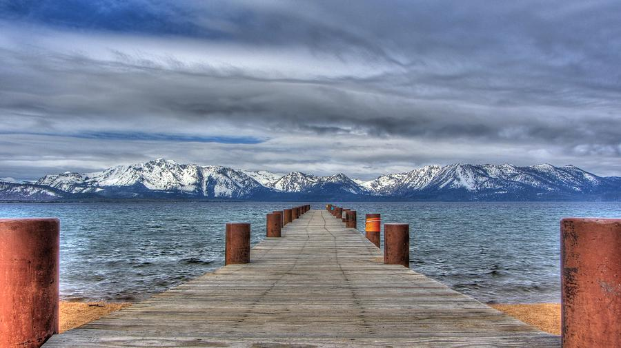Lake Tahoe Photograph - Dock Of Dreams by Brad Scott