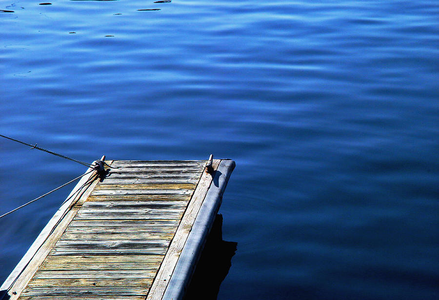 Dock Photograph - Dock by Val Jolley