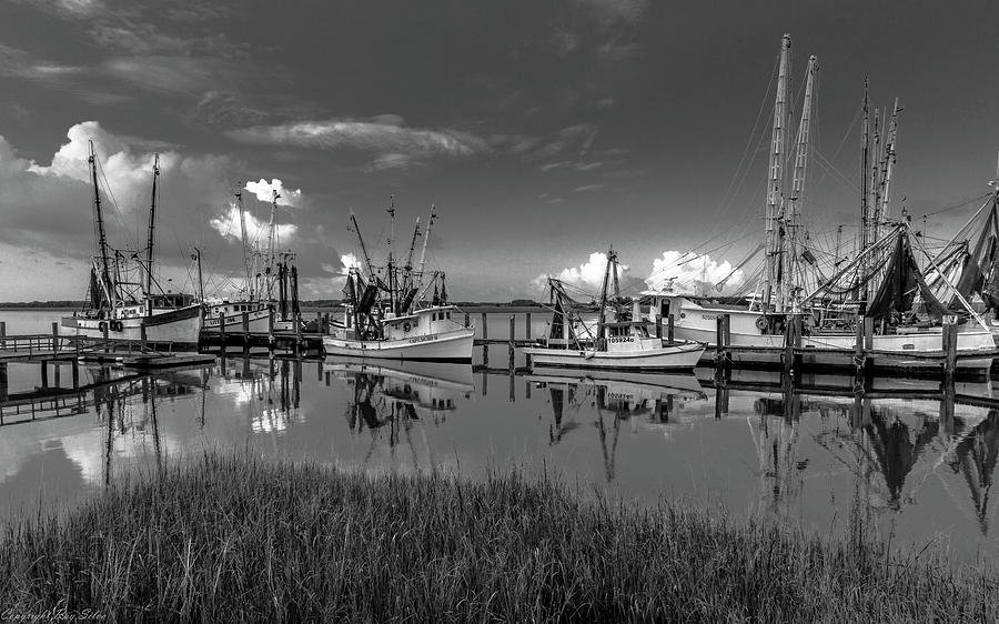 Seascape Photograph - Docked II by Ray Silva