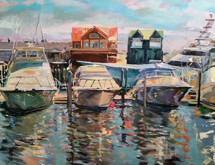 Docked by Linette Childs