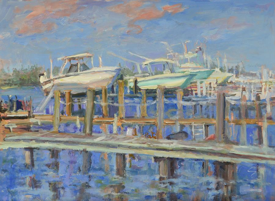 Docked by Patricia Maguire