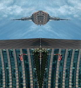 Empire State Building Photograph - docking Of Starship Empire by Sam Smith
