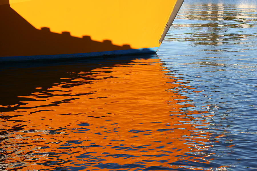 Water Photograph - Dockside by Evelyn Antonysen