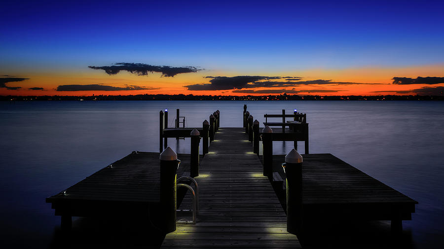 Dockside Sunset by Bill Dodsworth