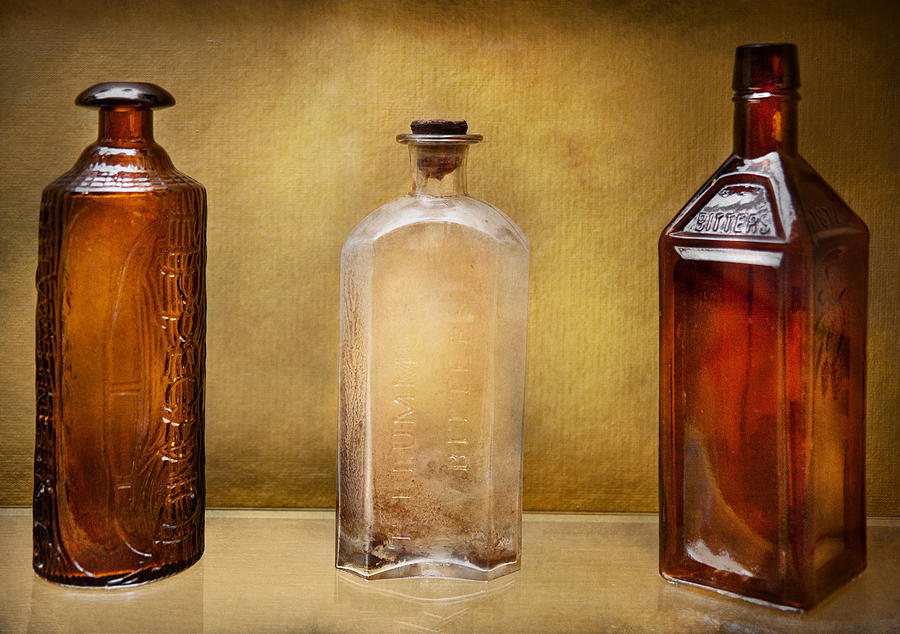 Hdr Photograph - Doctor - Bitters  by Mike Savad