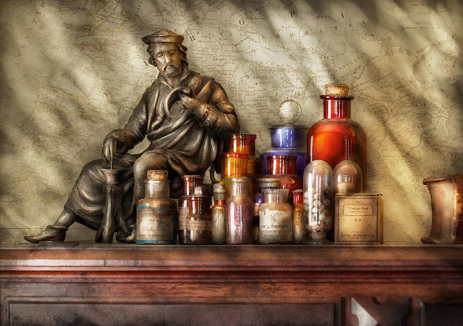 Suburbanscenes Photograph - Doctor - Doctor Recommended  by Mike Savad