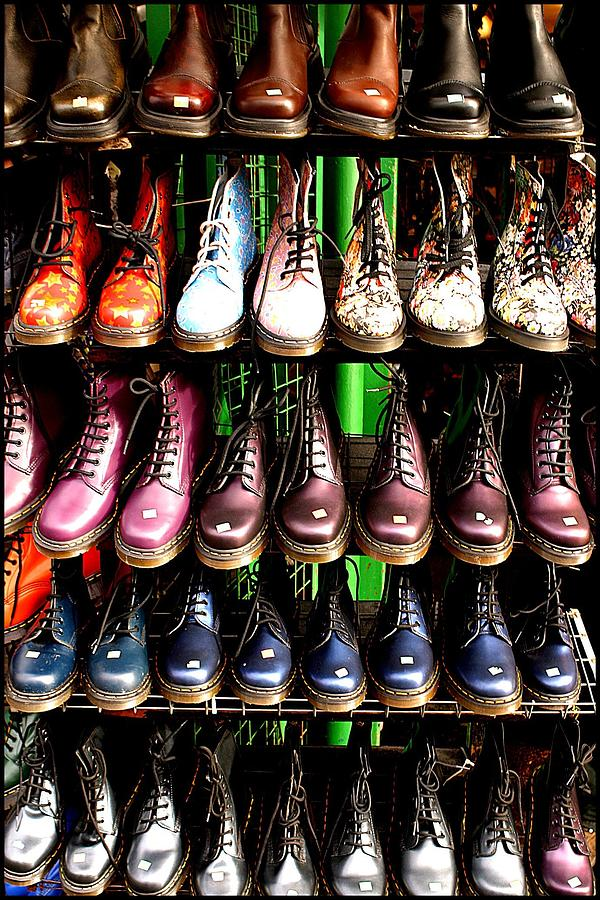 London Photograph - Doctor Martins Foot Emporium by Jez C Self
