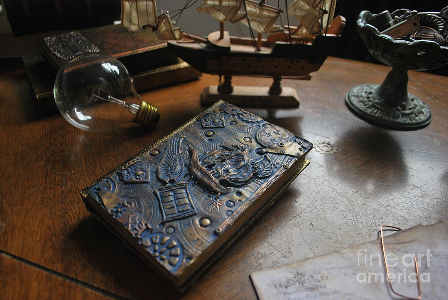 Doctor Who Steampunk journal  by REINA RESTO