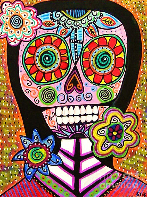 Dod Art 123kkg Mixed Media by Sandra Silberzweig
