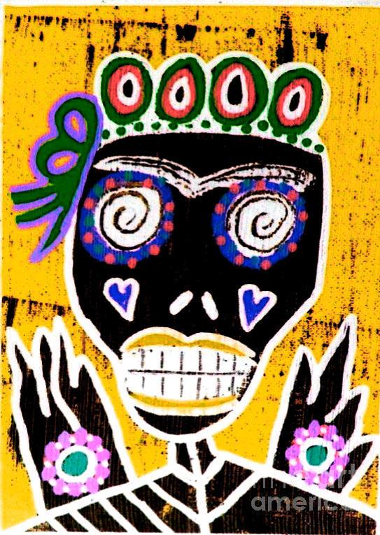Dod Art 123kuy Mixed Media by Sandra Silberzweig