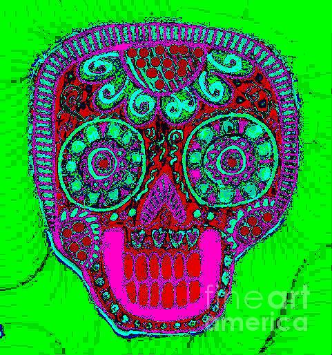 Dod Art 123pn Mixed Media by Sandra Silberzweig
