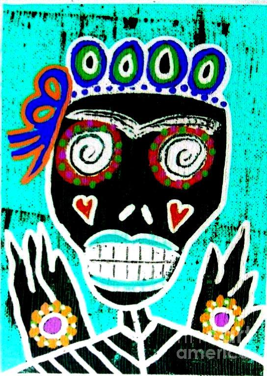 Dod Art 123yre Mixed Media by Sandra Silberzweig