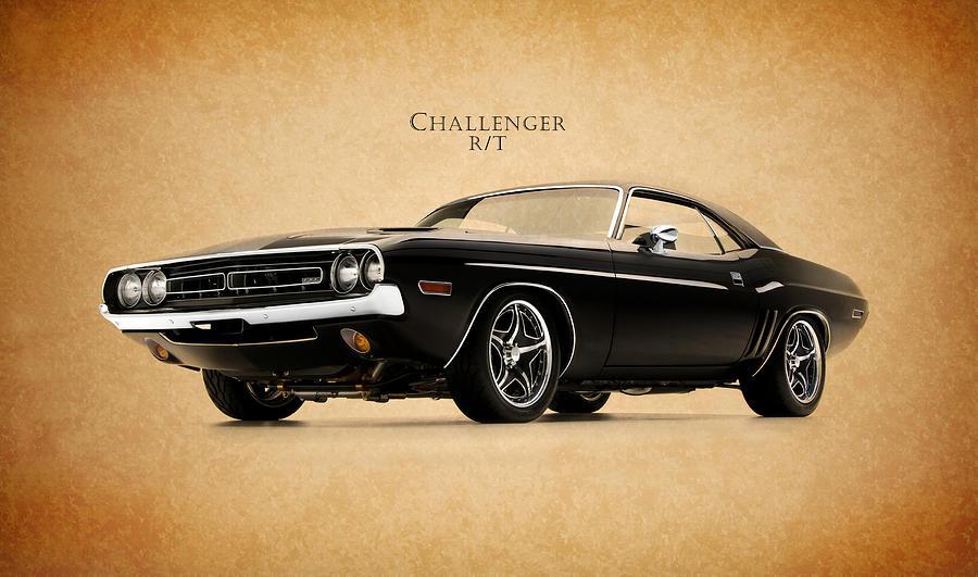 Dodge Challenger Photograph - Dodge Challenger by Mark Rogan