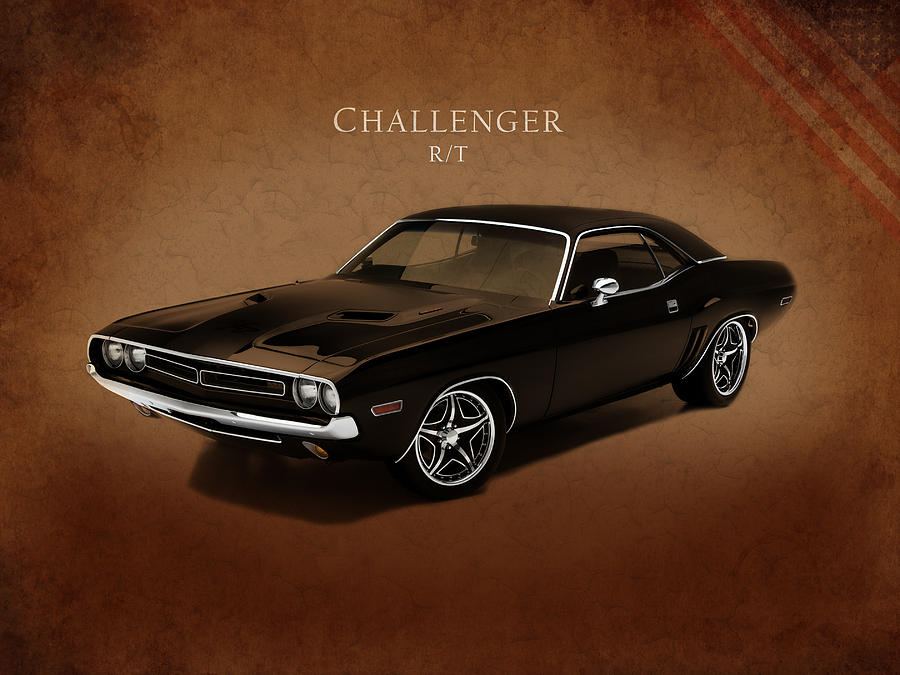 Dodge Challenger Rt Photograph - Dodge Challenger Rt by Mark Rogan