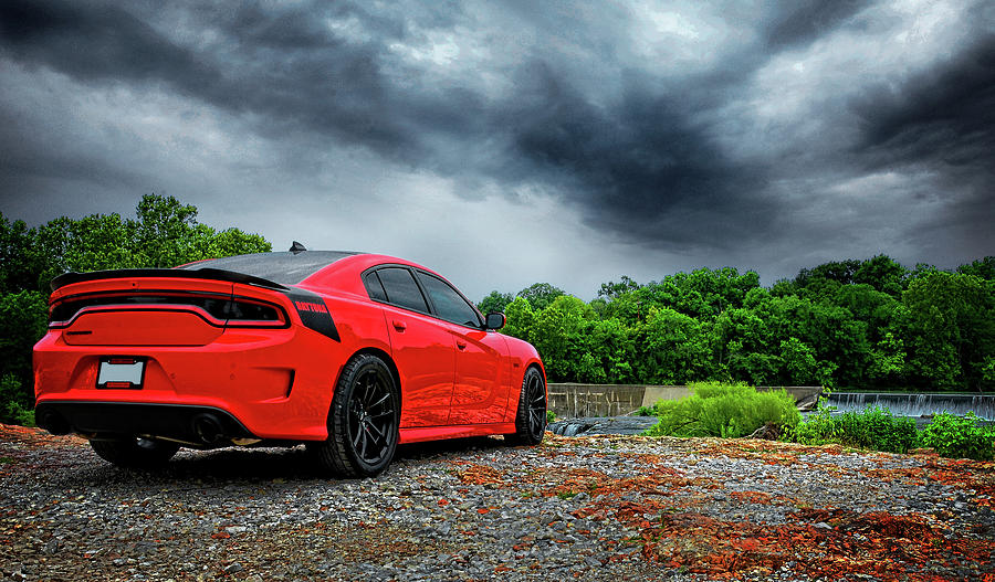 Dodge Daytona 392 TorRed Charger by Lourry Legarde