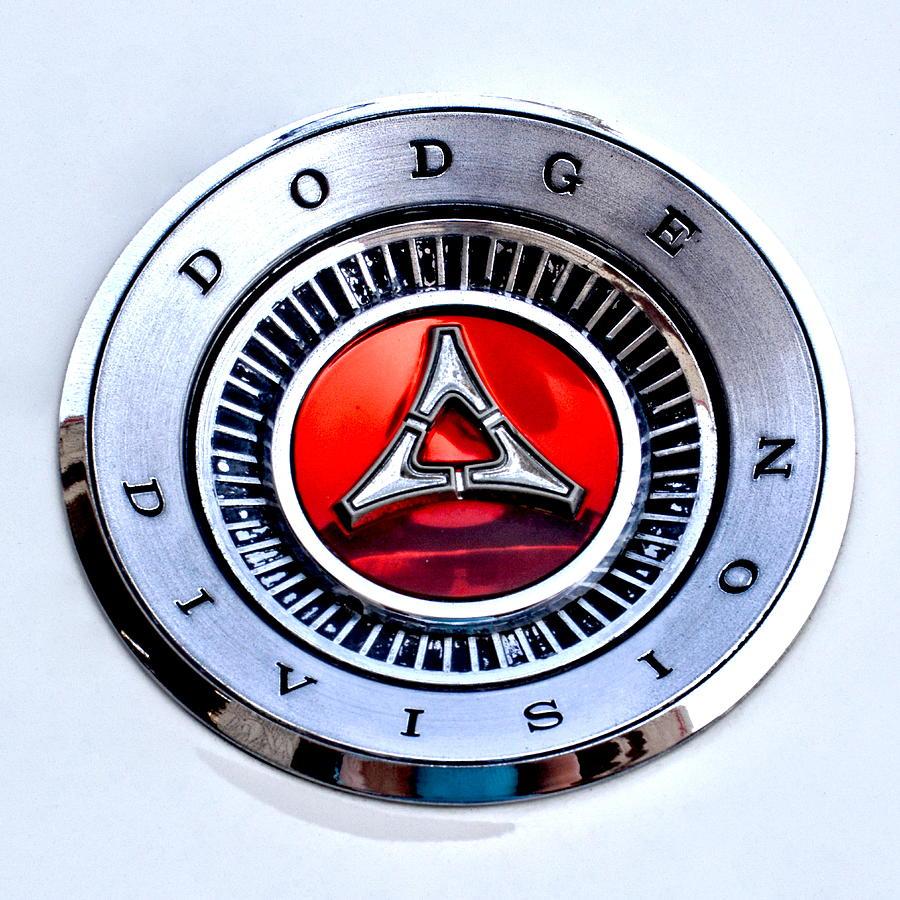 Dodge Division Classic Car Emblem Photograph