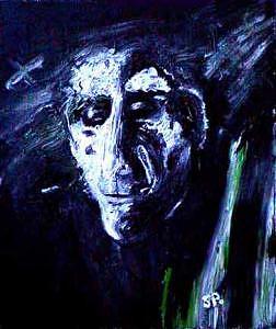 Dodi Mishkin Painting by Steven Polatnick
