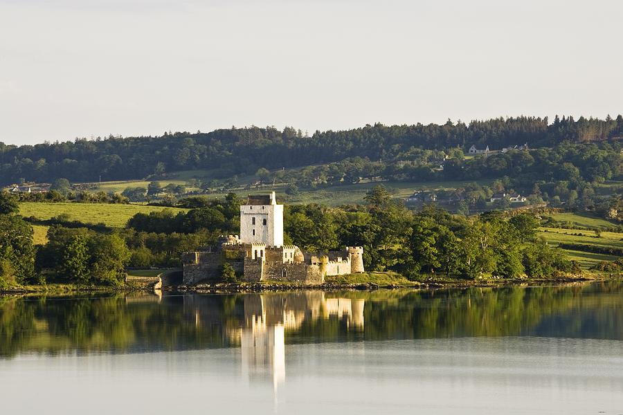 Attraction Photograph - Doe Castle, County Donegal, Ireland by Peter McCabe