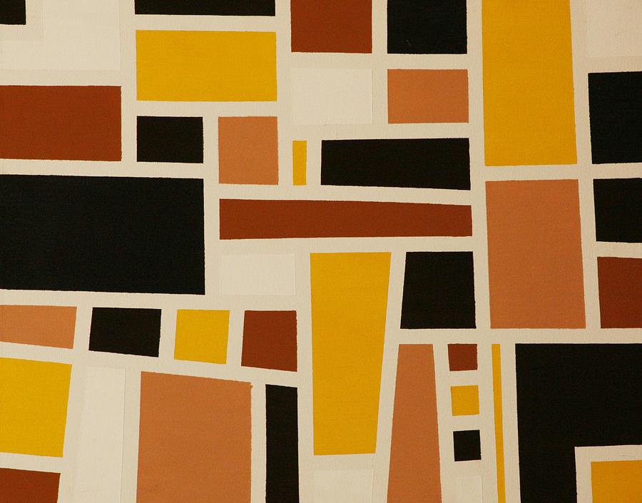 Abstract Painting - Does This Match by Neil  Medlin