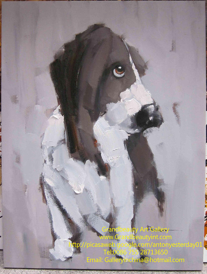 Dog Painting - Dog 2 by Darren