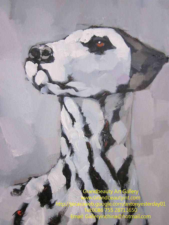 Dog Painting - Dog 3 by Darren