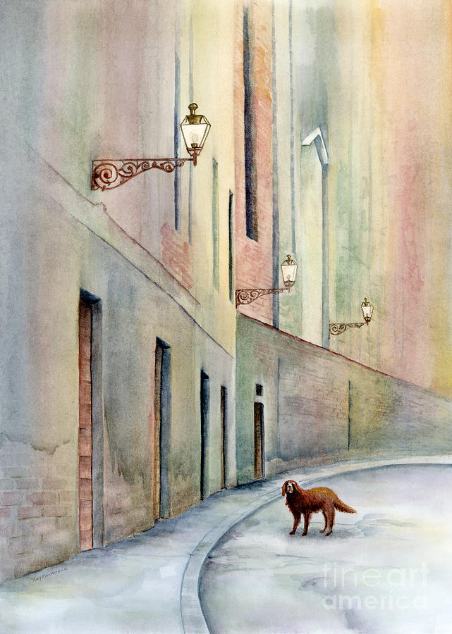 Dog Days Of Vicenza Painting