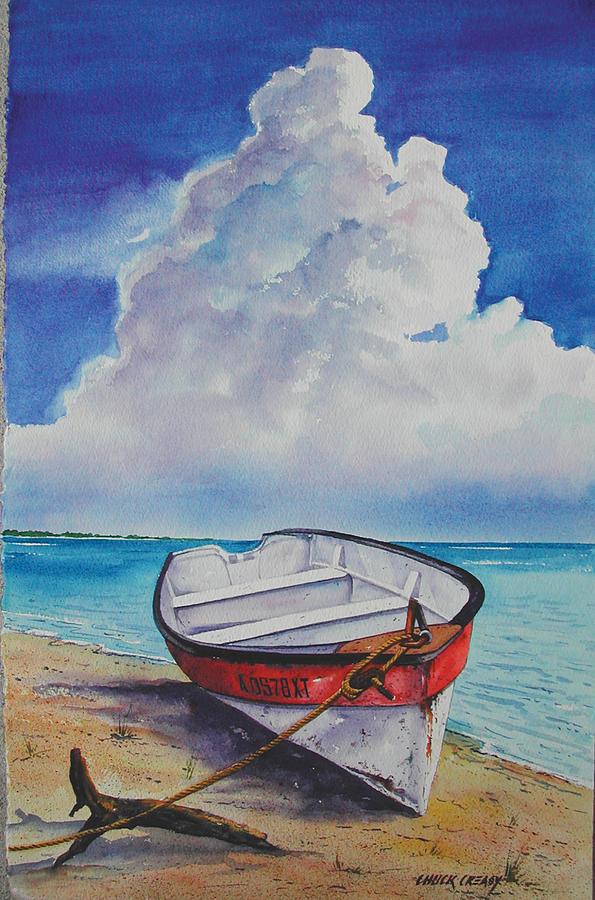 Island Painting - Dog Island Dorie by Chuck Creasy