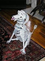Sculpture Sculpture - Dog Sculpture by Todd Timler
