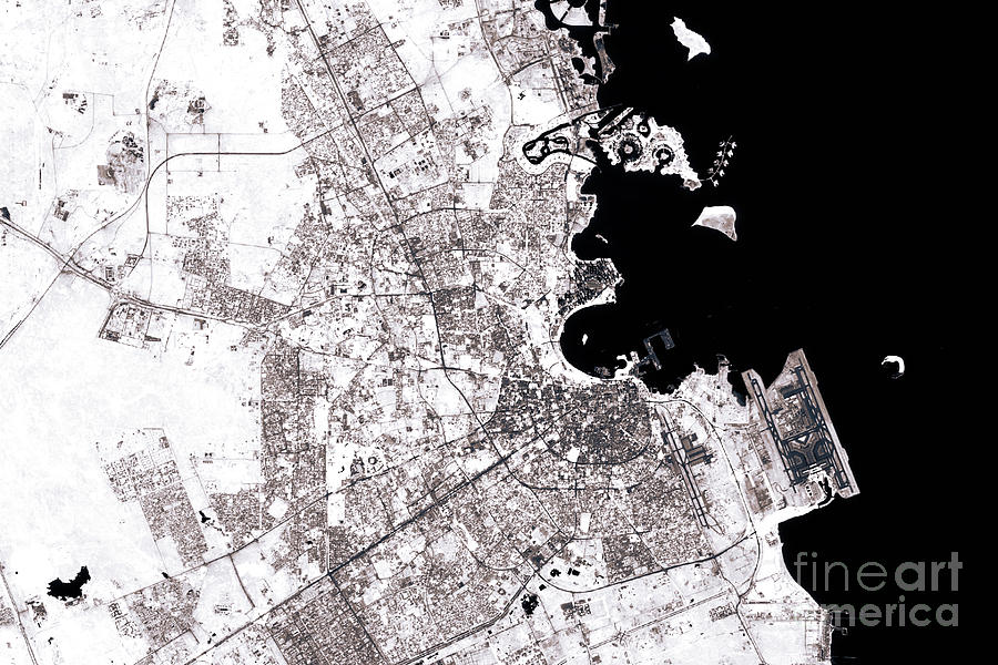 Doha Abstract City Map Black And White on black and white portraits of women, latitude and longitude of usa, black and white map of asia,