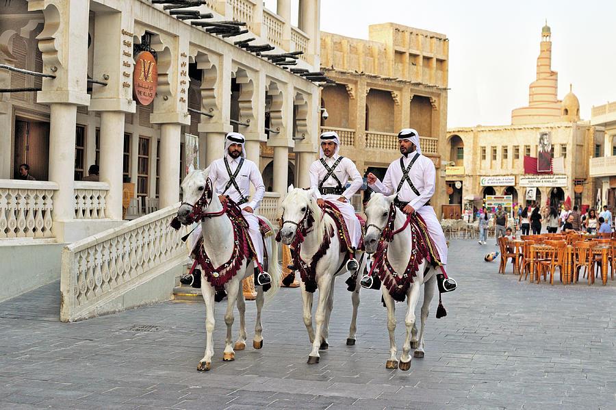 Doha souq by Paul Cowan