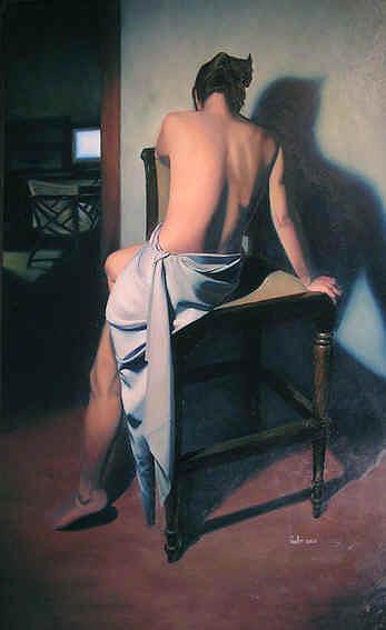 Nude Painting - Dokimos by Paulo Jimenez
