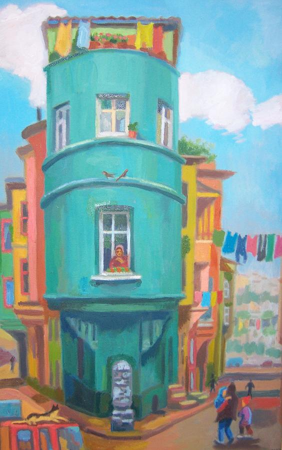 Dolapdere Painting by Lesya Demchenko