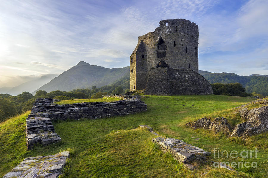 Llanberis Photograph - Dolbadarn Castle by Ian Mitchell