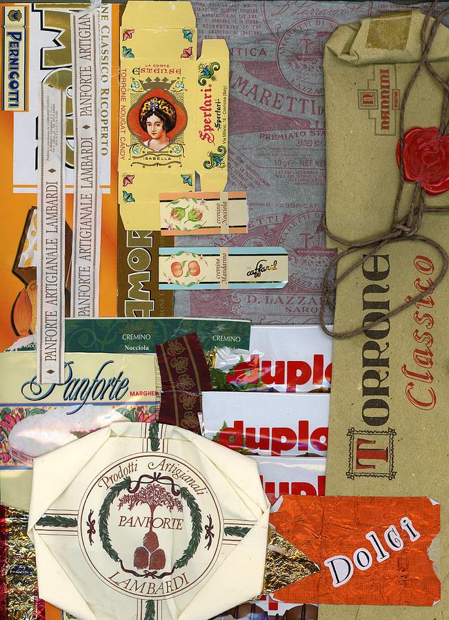 Dolci Mixed Media by Nancy Ferrier