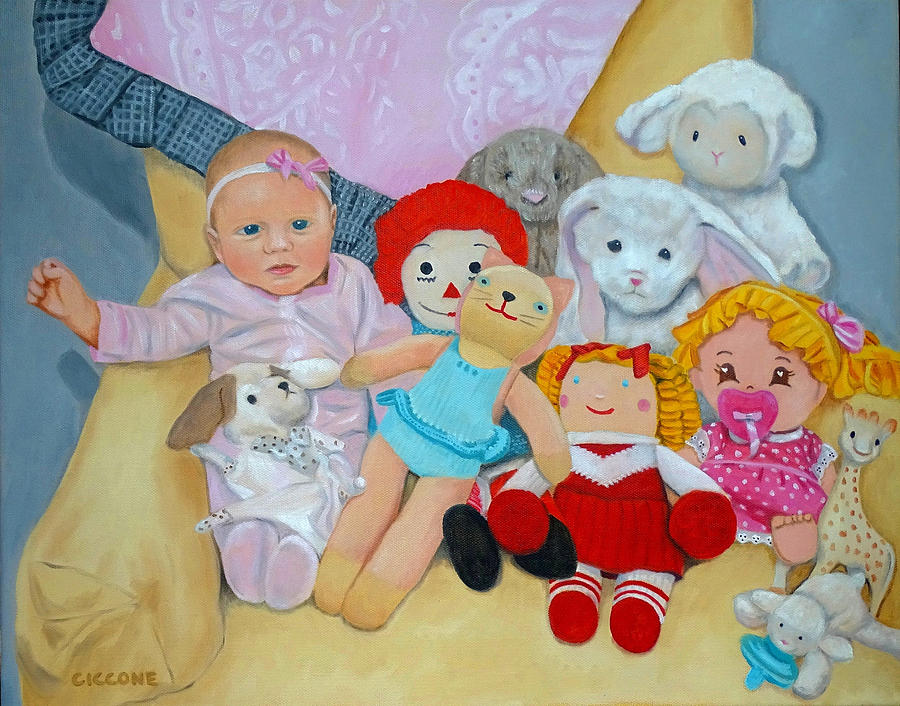 Doll Collection by Jill Ciccone Pike