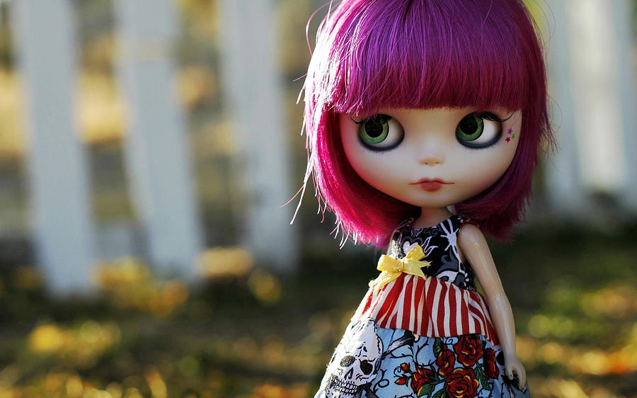 Doll Digital Art - Doll by Dorothy Binder