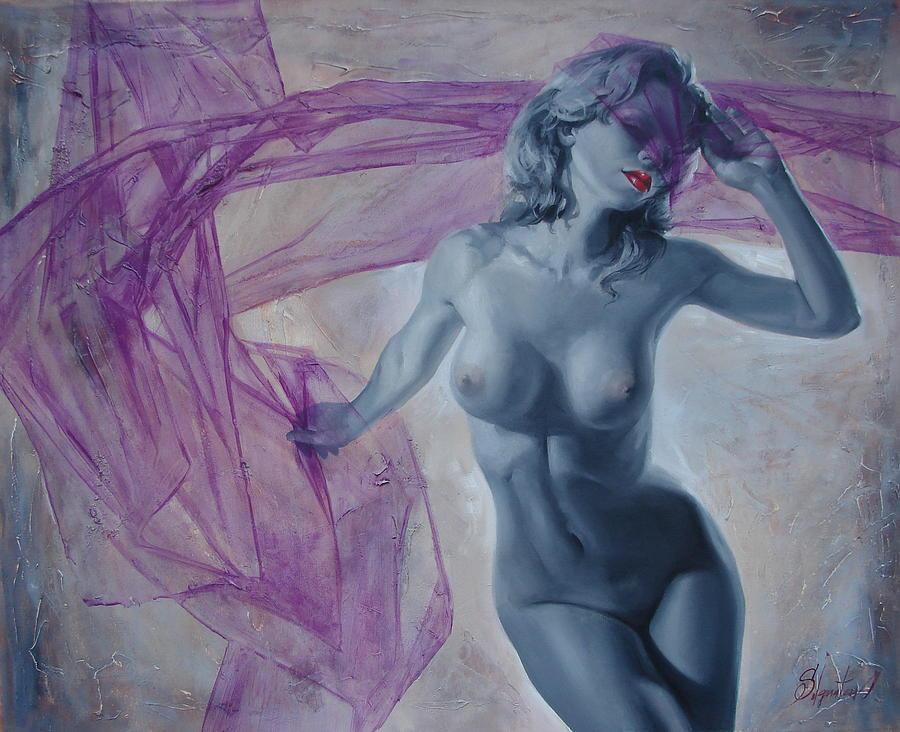 Ignatenko Painting - Doll by Sergey Ignatenko