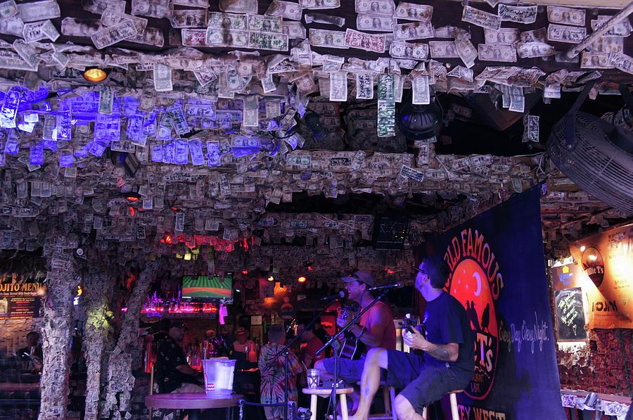 Dollar Bill Bar In Key West, Florida