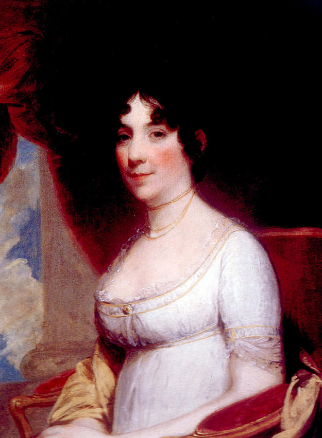 First Lady Photograph - Dolley Madison 1768-1849, First Lady by Everett