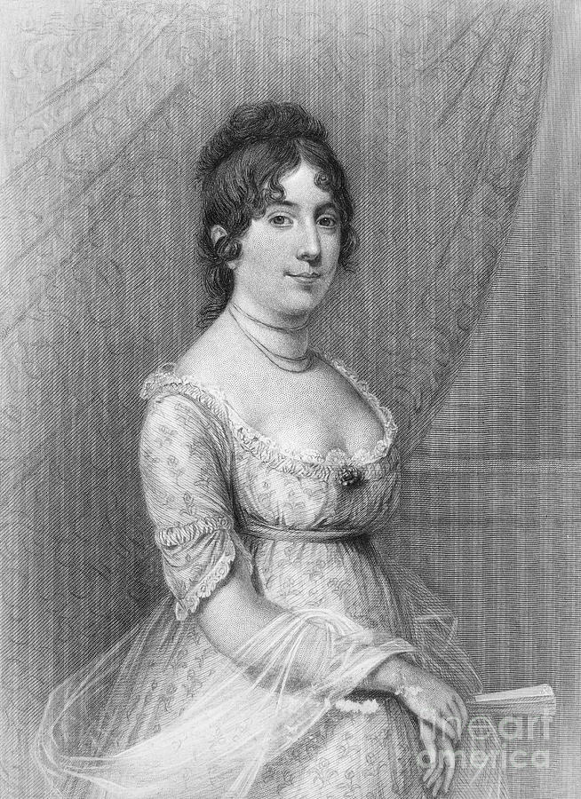 19th Century Photograph - Dolley Madison (1768-1849) by Granger
