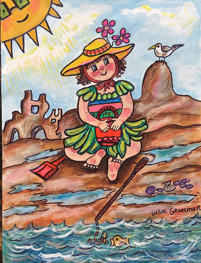 Dolly at the Beach by Susie Grossman