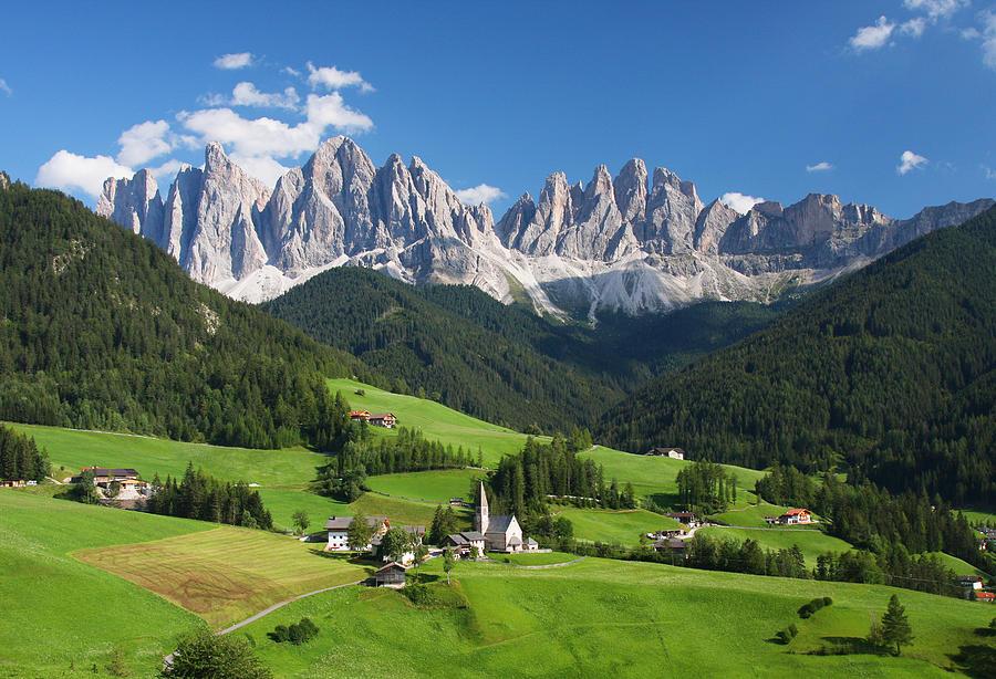 Landscape Photograph - Dolomites In Summer by Dan Breckwoldt