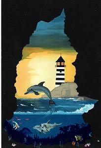 Dolphin Cove Painting by David Ellis