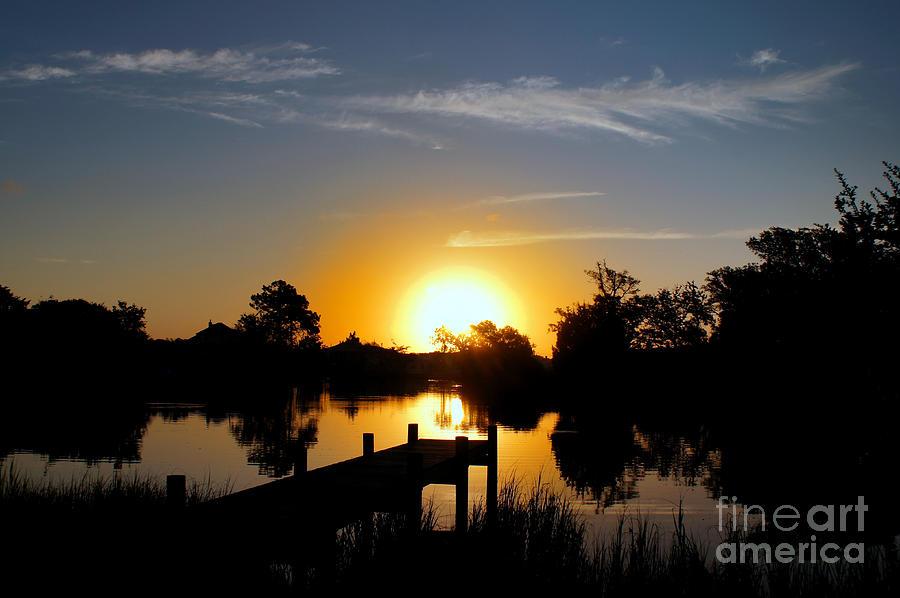 Sunrise Photograph - Dolphin Cove Sunrise by Benanne Stiens