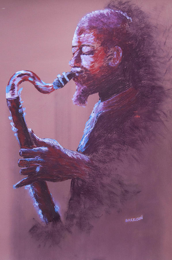 Eric Painting - Dolphy by Marina Garrison